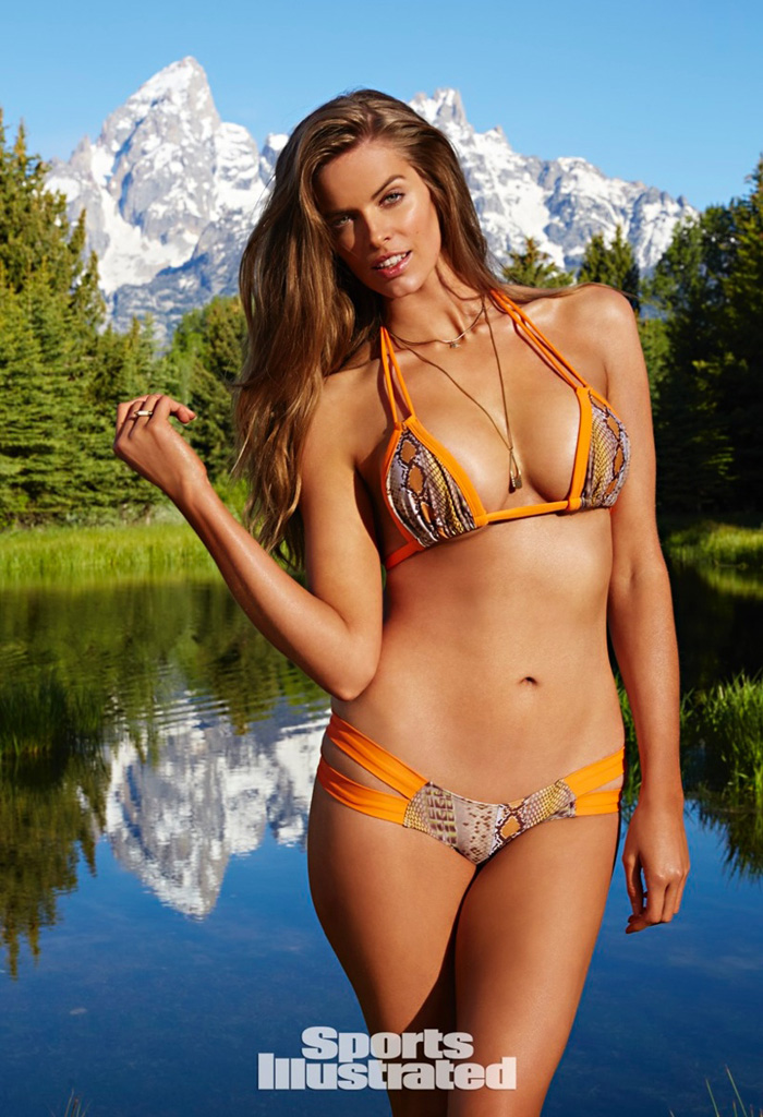 Robyn Lawley, First Curvy SI Swimsuit Model, Births ...