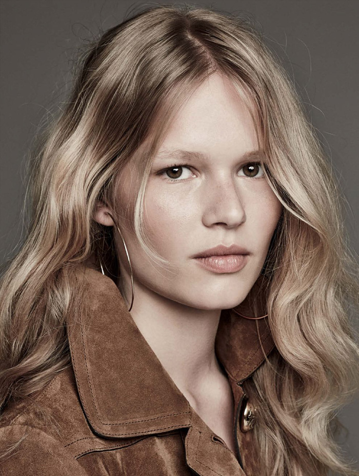 Anna Ewers By Karl Lagerfeld For: Anna Ewers By Patrick Demarchelier For Vogue Germany March