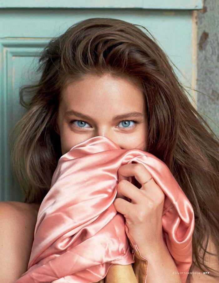 Emily didonato in 39 private emily 39 by matt jones for elle for Elle italia