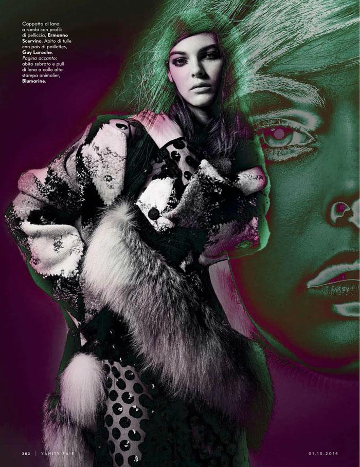 18e06daa0cfa Vittoria Ceretti By Wayne Maser For Vanity Fair Italia October 1 ...