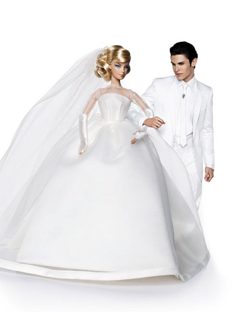 all barbie and ken images by karl lagerfeld via glamkiller fun