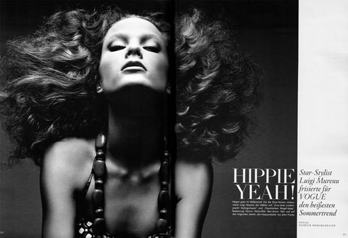 patrick demarchelier photos big hair
