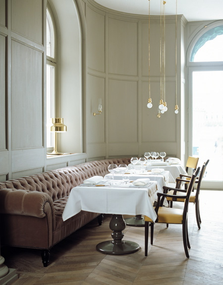 Ilse crawford smart sensuality interior designer par for Dining room operations