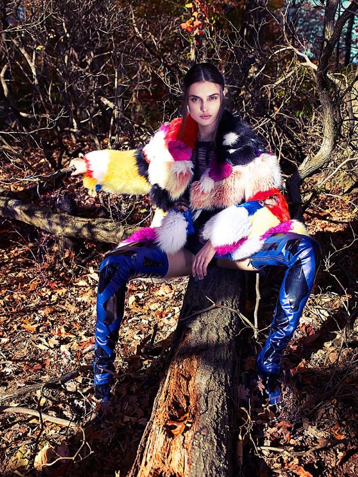 b917b40c99 Blanca Padilla Makes A Vivid Impression In Nico Bustos Images For Yo ...