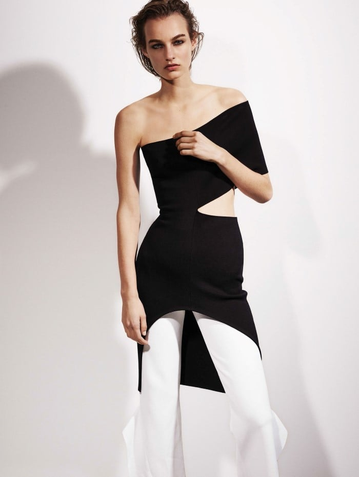 Maartje Verhoef Fronts \'Monochrome\' By Ezra Petronio For Vogue China ...