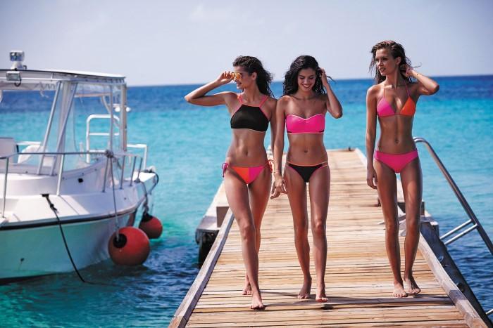 3e8ba5c4c6 Victoria s Secret Beauties Deliver Pt 2 VS Swim Catalogue 2016 ...