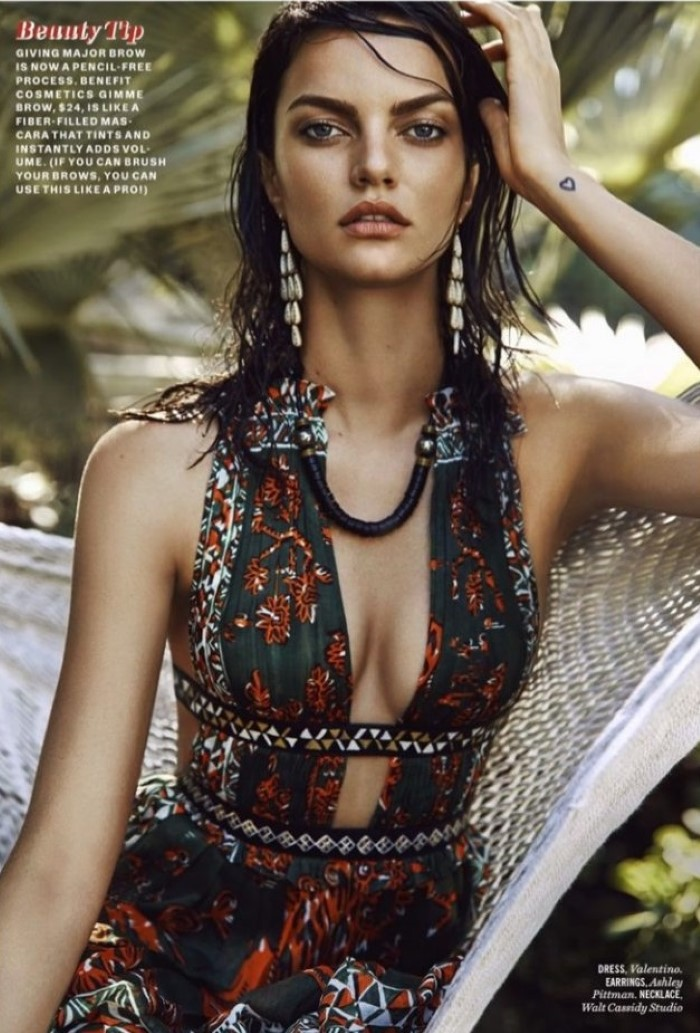Barbara Fialho Is Jungle Babe For Max Abadian Snaps In ...