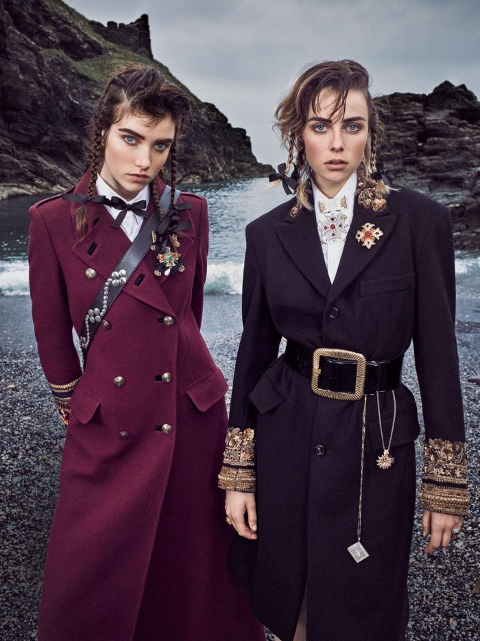 526a13d7add2 Edie Campbell   Grace Hartzel In  Major General  By Mikael Jansson For Vogue  US September 2016
