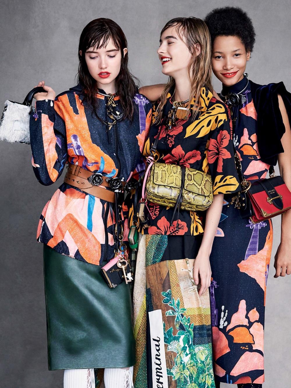 7c39d49defc6 Patrick Demarchelier Flashes  Pomp   Circumstance  For Vogue US September  2016