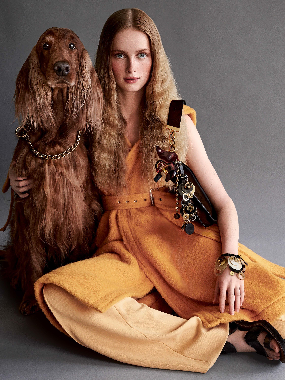 637051f8515e Patrick Demarchelier Flashes  Pomp   Circumstance  For Vogue US ...