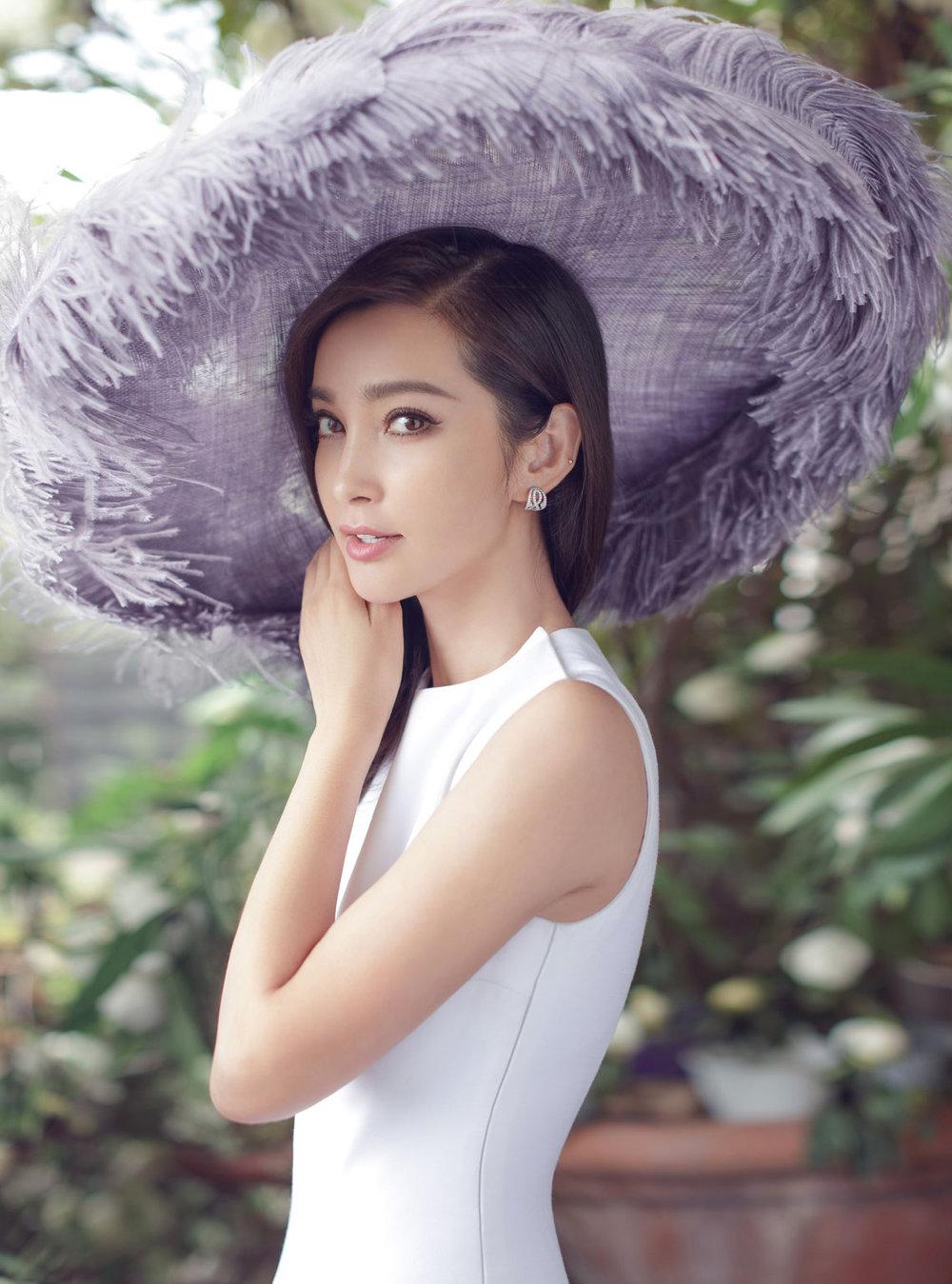 Li Bingbing Is Pure Elegance Lensed By Chen Man For Harper