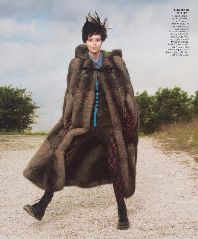 50249c35dc45 Rianne van Rompaey   Natalie Westling Are  New Romantics  For Vogue ...