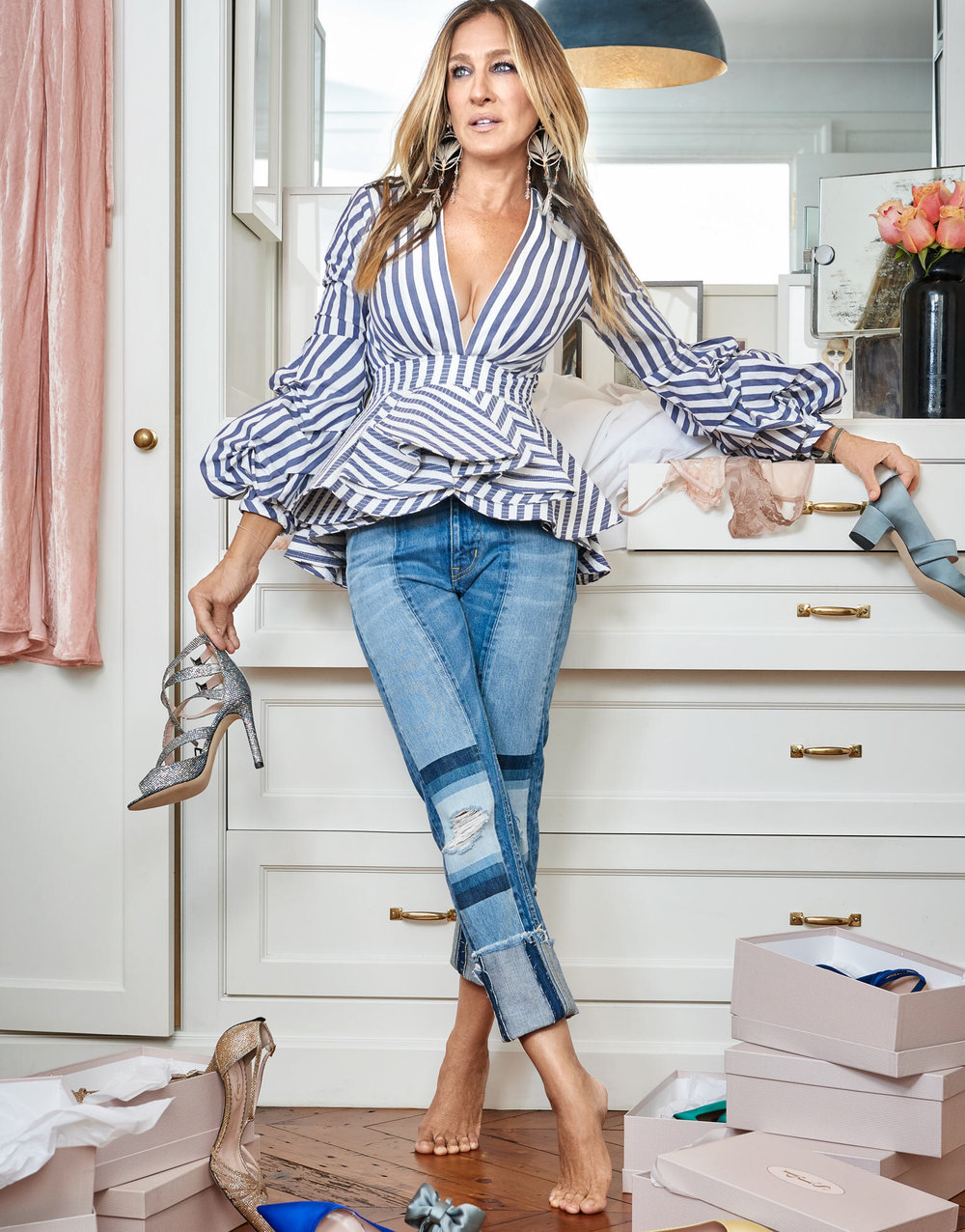 a82535adda7 Sarah Jessica Parker In  Running in Heels  By Liz Collins For The Edit  November 17