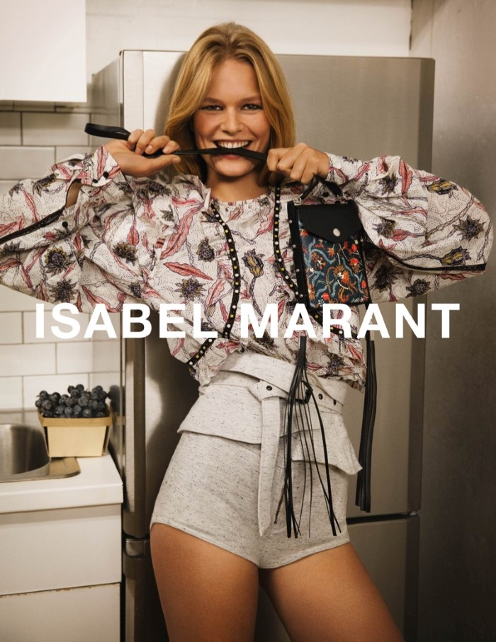 60ecf3b6e9f Anna Ewers Fronts Isabel Marant Spring/Summer 2017 Campaign By Inez &  Vinooth