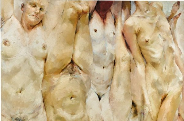 Jenny Saville,Shift(1996-97).Courtesy of Sotheby's.