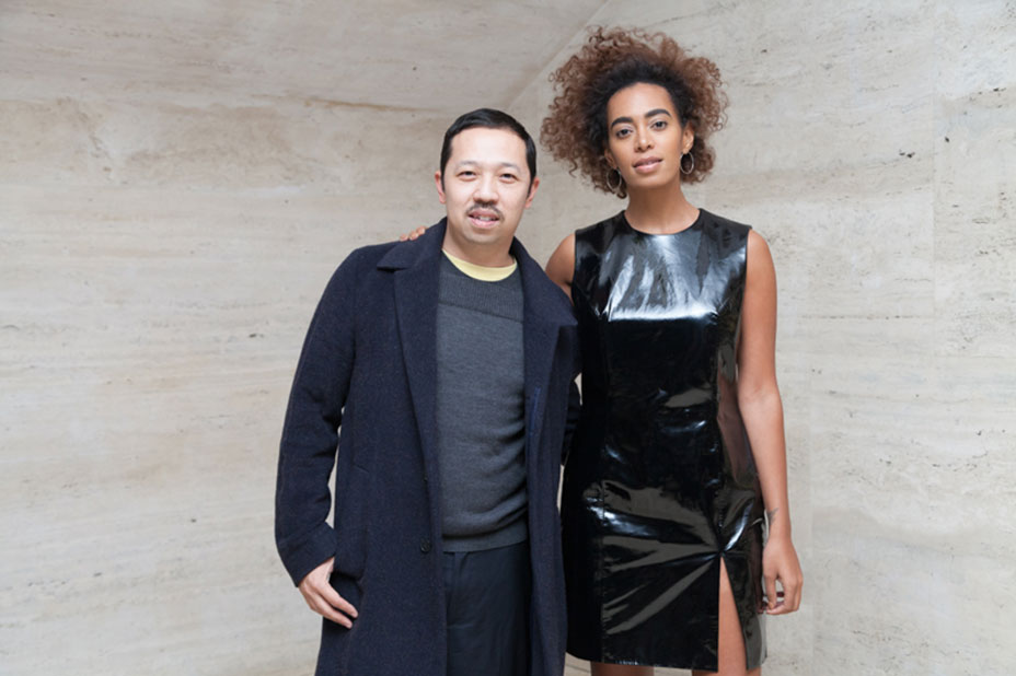 Opening Ceremony's Humberto Leon and Solange at The New York City Ballet's 'The Times Are Racing.'
