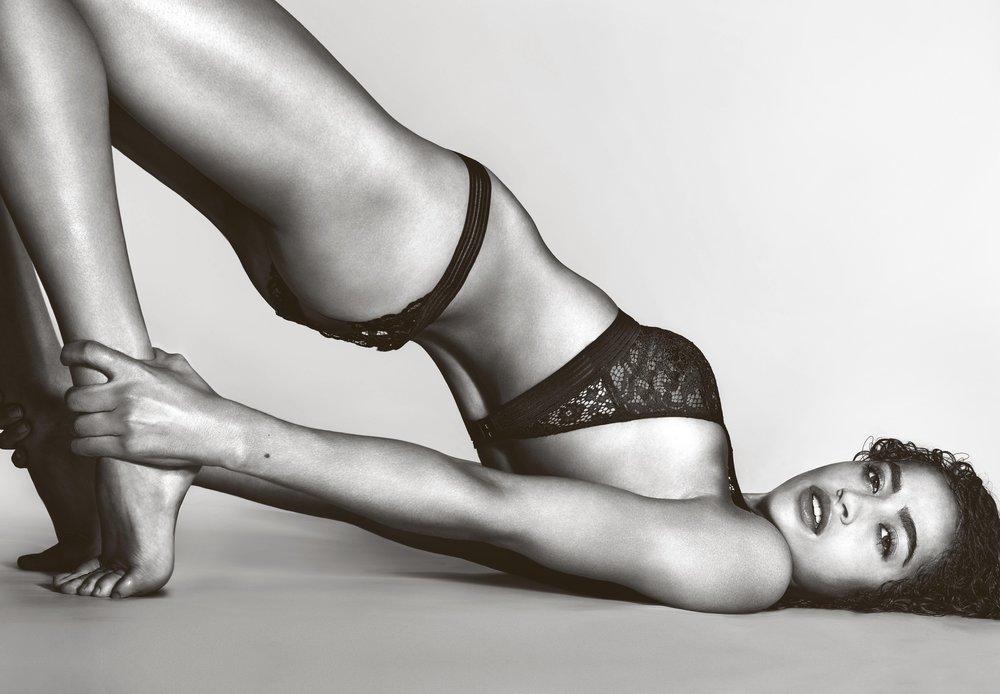 Alanna Arrington in Victoria's Secret by Richard Burbridge for 10 Magazine