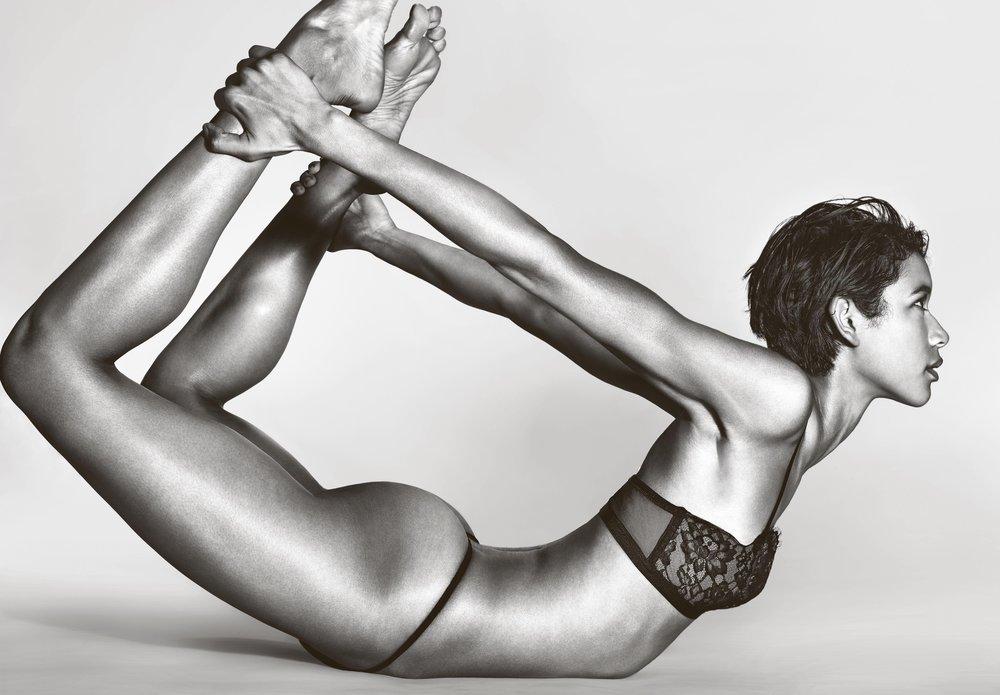 Angel Dilone in Victoria's Secret by Richard Burbridge for 10 Magazine