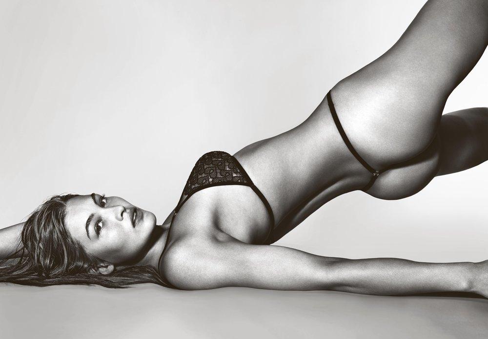 Grace Elizabeth in Victoria's Secret by Richard Burbridge for 10 Magazine