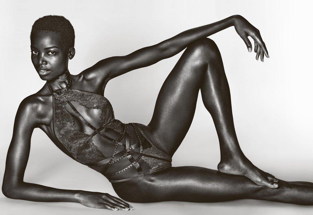 Maria Borges in Victoria's Secret by Richard Burbridge for 10 Magazine