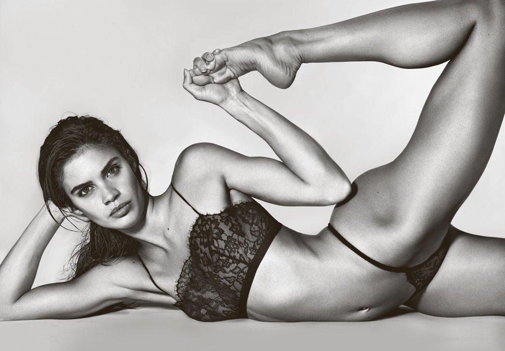 Sara Sampaio in Victoria's Secret by Richard Burbridge for 10 Magazine