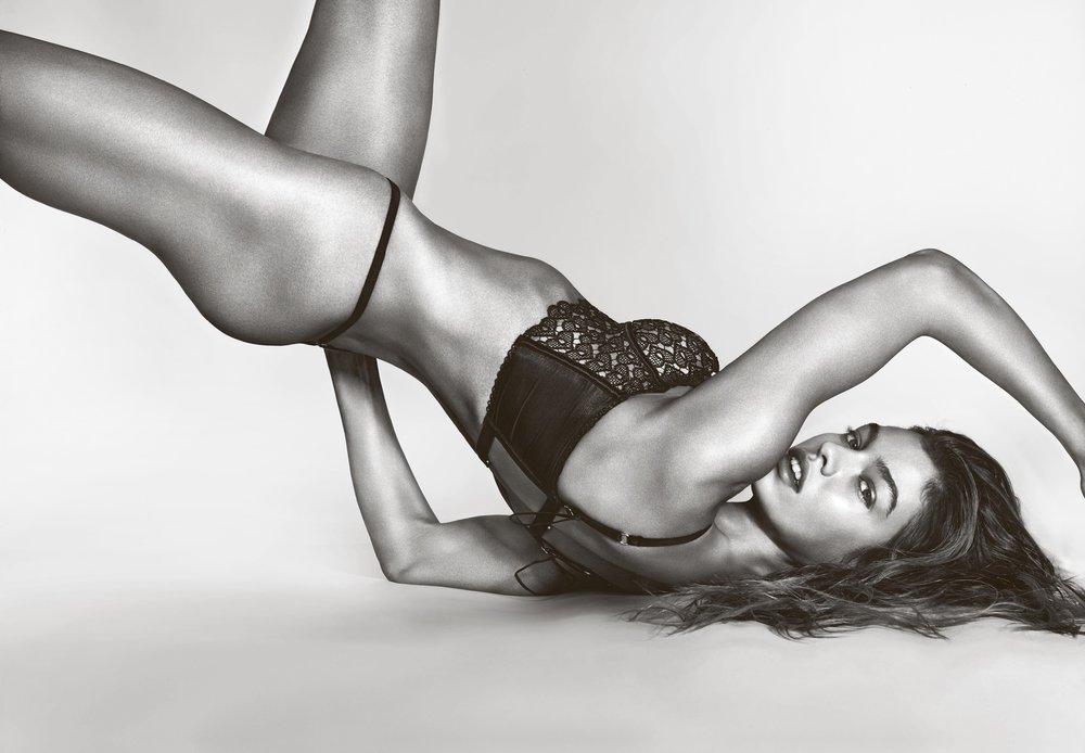Stella Maxwell in Victoria's Secret by Richard Burbridge for 10 Magazine