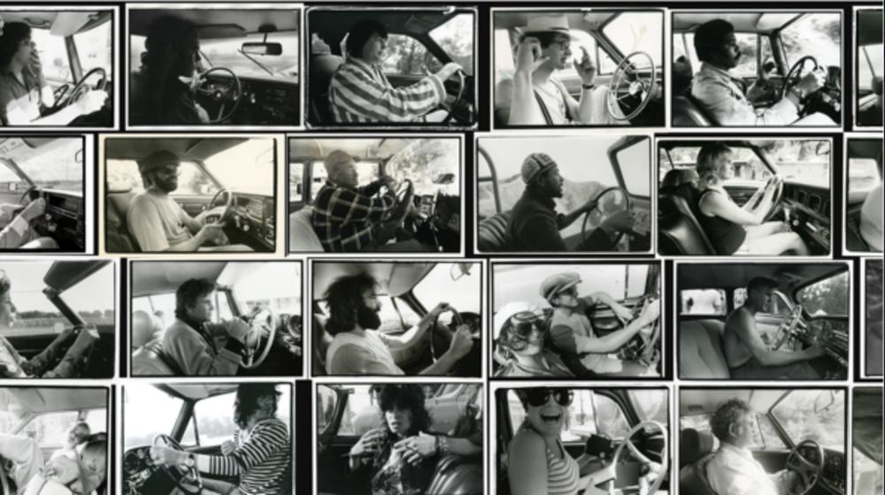 "Annie Leibovitz, Photographs from the ""Driving"" series. © Annie Leibovitz"