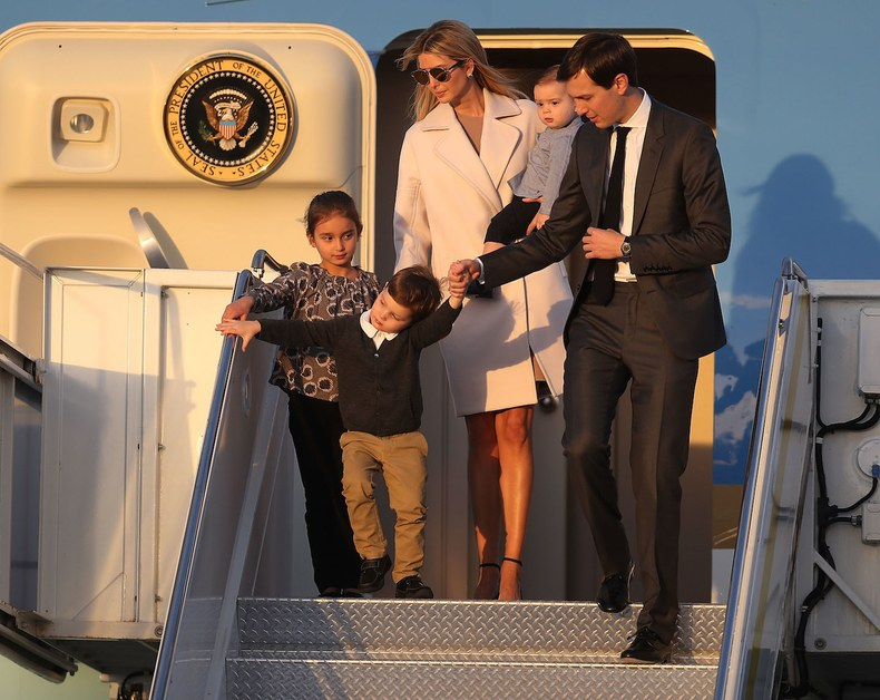 The young tycoons hitch a ride to palm beach at taxpayers expense