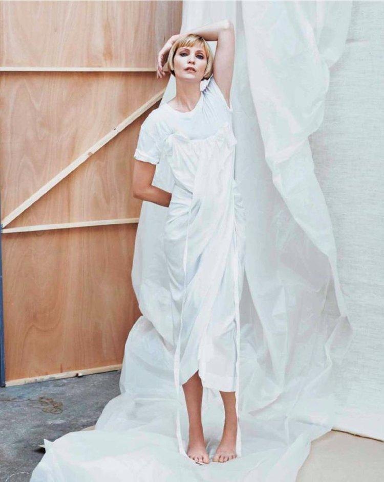 Nadja Auermann Is Lensed By Van Mossevelde + N For Marie Claire ...