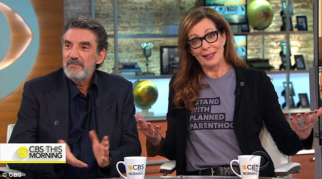 News of the 'Mom' campaign came with a May 18 appearance on 'CBS This Morning', joined by Sue Dunlap, President/CEO of Planned Parenthood Los Angeles and support from 'Mom' second co-creator and executive producer Chuck Lorre.