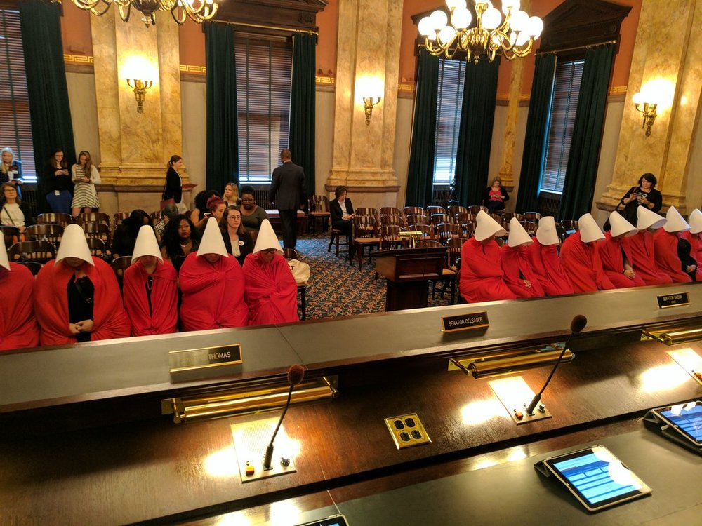 Michael Premo, Chief of Staff for the Democrats in Ohio Senate writes: Just another day at the Statehouse.