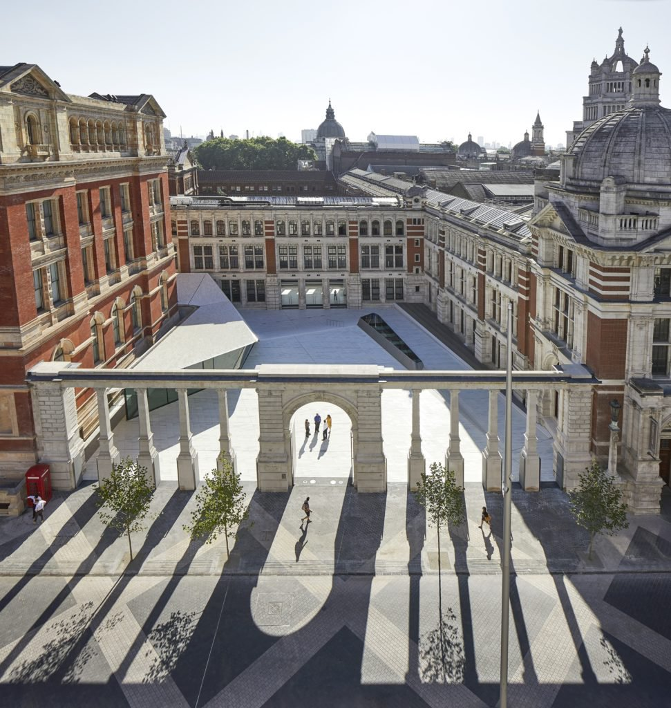 V&A Exhibition Road Quarter, designed by AL_A ©Hufton+Crow, courtesy Victoria and Albert Museum.