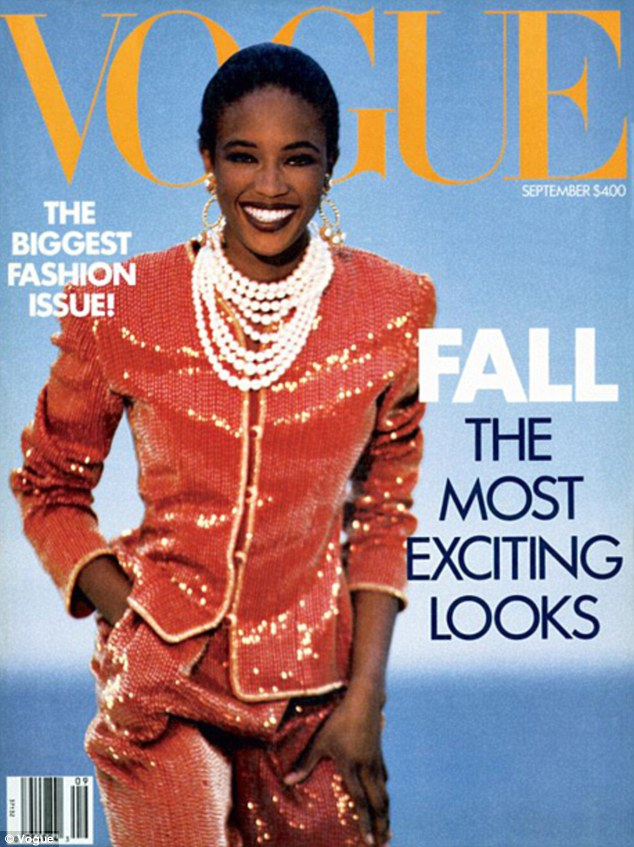 Anna Wintour put Naomi Campbell on the cover of the September issue in 1989, her first with the magazine.