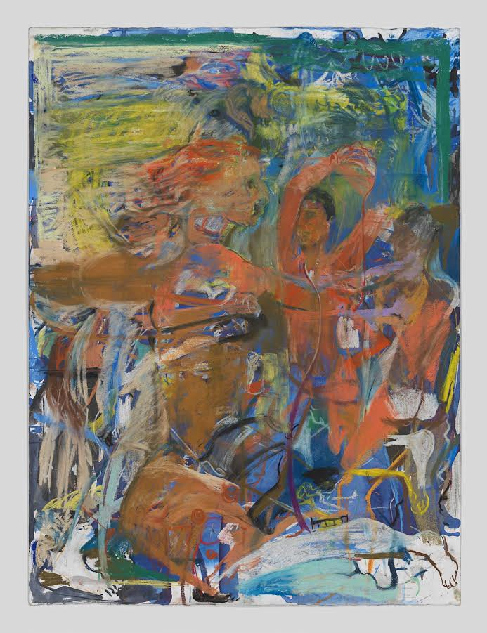 Cecily Brown,  Untitled (Young Spartans) , 2015. Courtesy of Planned Parenthood