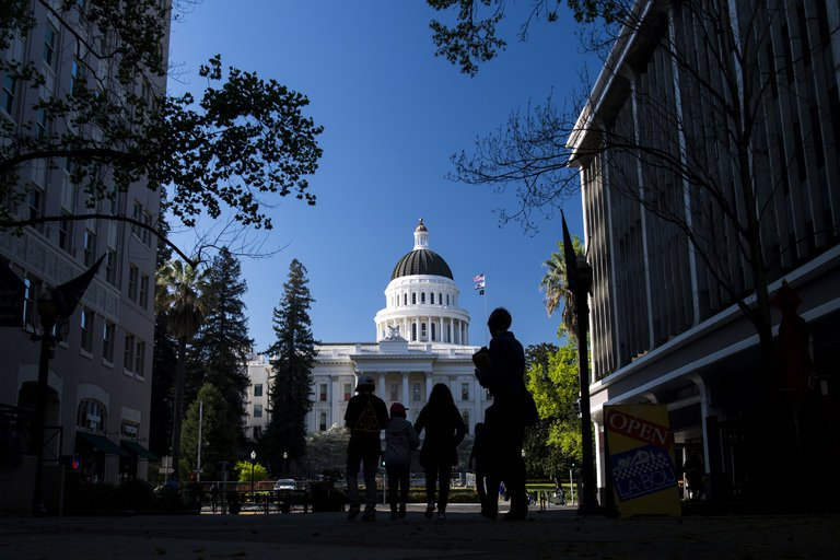 The California State Capitol building in Sacramento. CreditDavid Paul Morris/Bloomberg