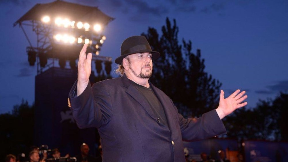 "Writer-director James Toback attends the premiere of his latest movie, ""The Private Life of a Modern Woman,"" at the Venice Film Festival last month. (Filippo Monteforte / AFP / Getty Images)"