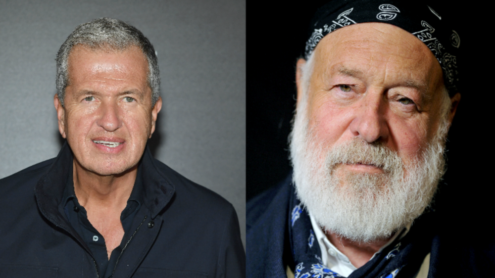 Prominent photographers Mario Testino (left) and Bruce Weber (right) featured in major New York Times deep dive into sexual harassment and sexual assault charges.