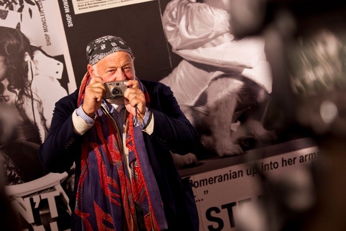 The photographer Bruce Weber at a fashion event in Milan in 2011.Credit: Evan Sung for The New York Times