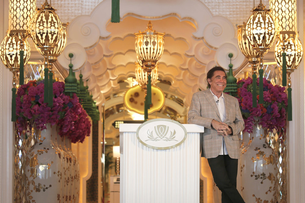 Steve Wynn, CEO of Wynn Resorts, during a press conference in Macau, China, in August 2016.PHOTO:VINCENT YU/ASSOCIATED PRESS