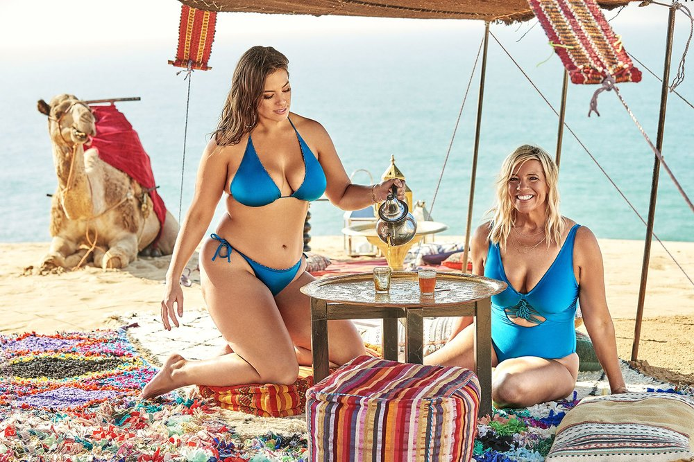 f82e7d7bbf4 Ashley & Mom Linda Graham Enjoy Morocco In Swimsuits For All 2018 ...