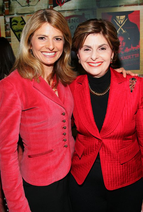 Gloria Allred (r) and daughter Lisa Bloom (l)