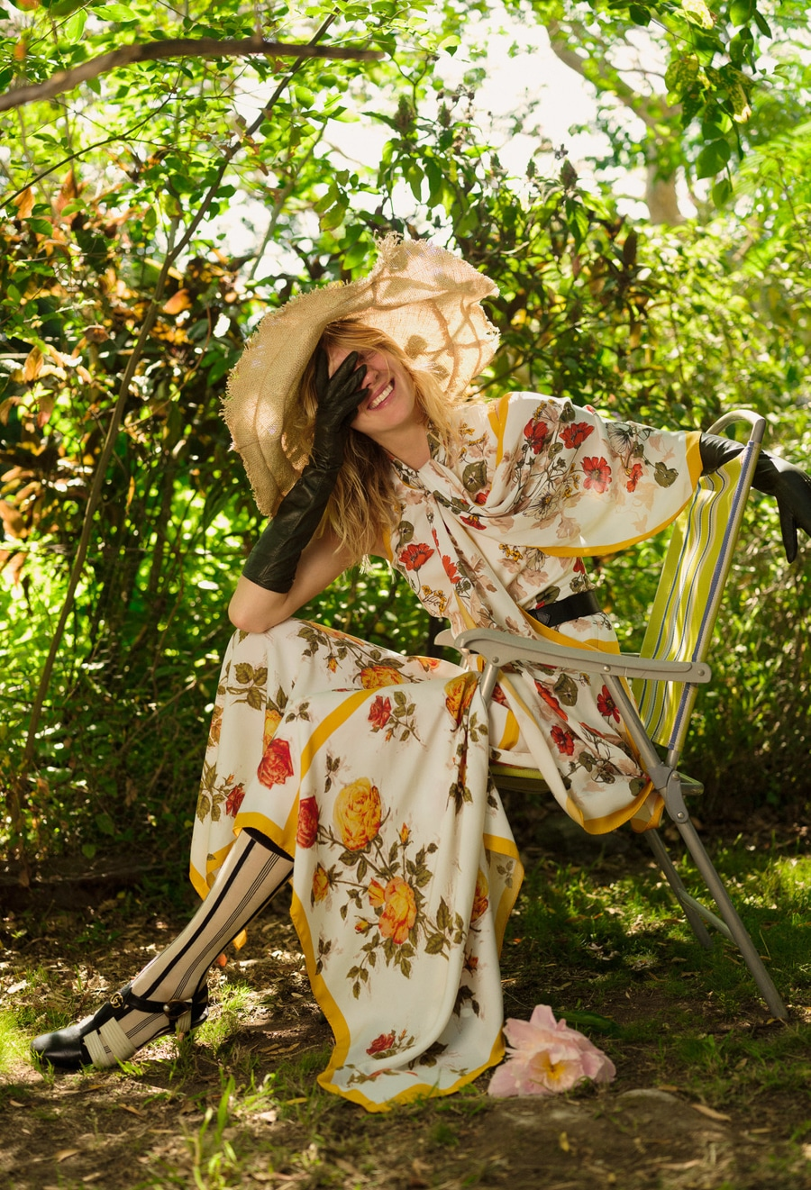 Annely Bouma Is Garden Beauty Lensed By Georges Antoni For Marie ...