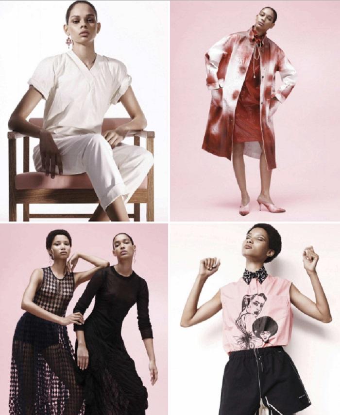 Paola Kudacki Eyes Hiandra, Lineisy & Luisana In 'Ser Mujer' For Vogue Mexico April 2018
