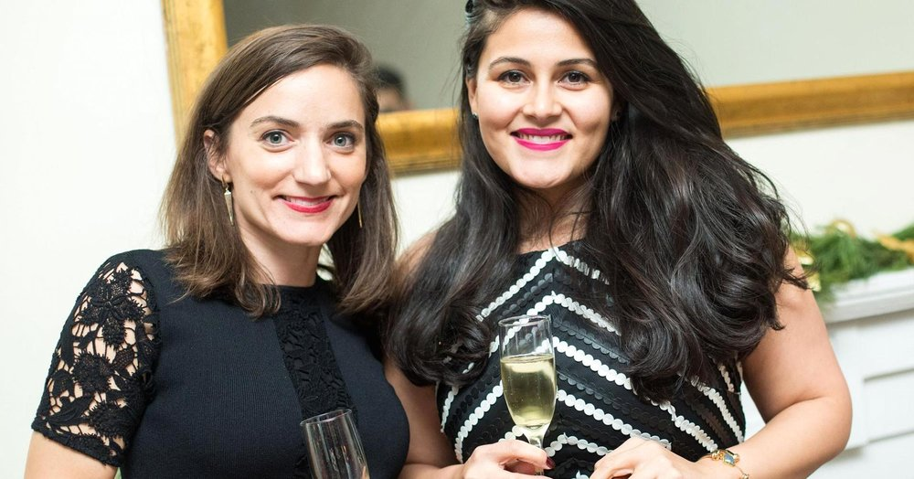 Lydia Gilbert (l) and Nadia Boujarwah (r), Dia & Co.