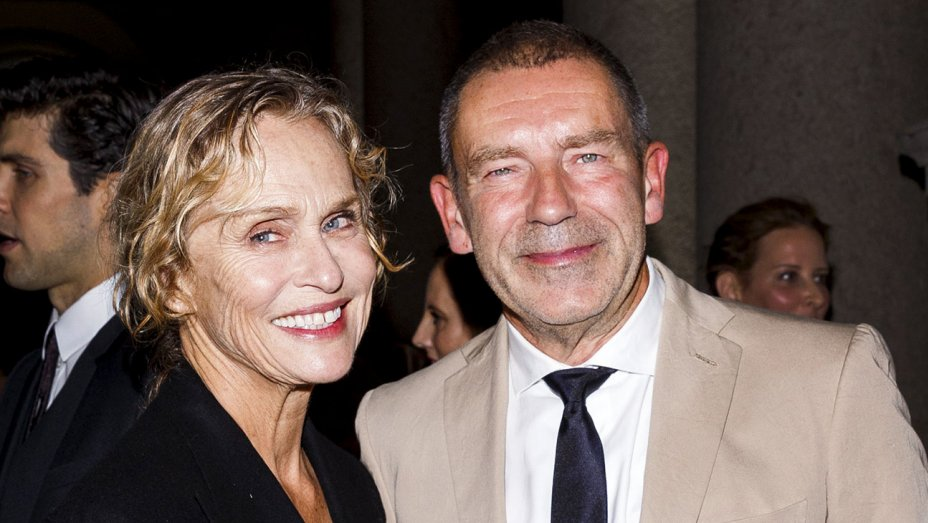 Lauren Hutton and Tomas Maier. Tristan Fewings/Getty Images