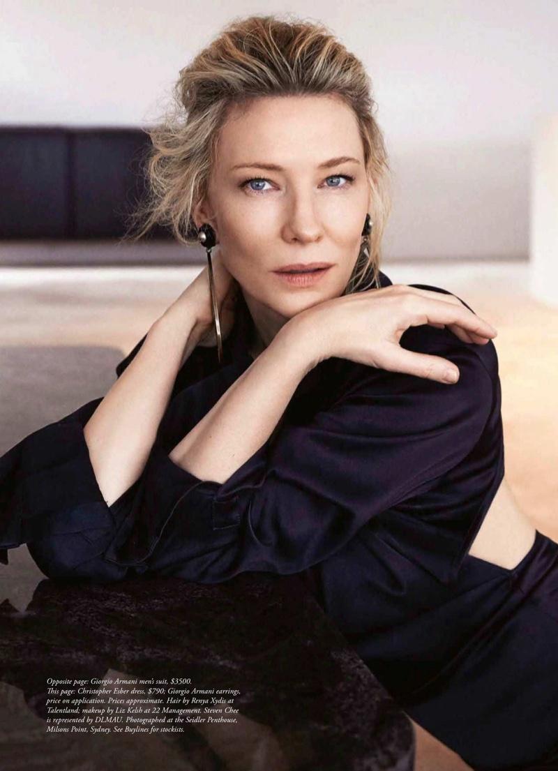 Cate Blanchett in Harpers Bazaar Australia Sept 2018 by Steven Chee (1).jpg