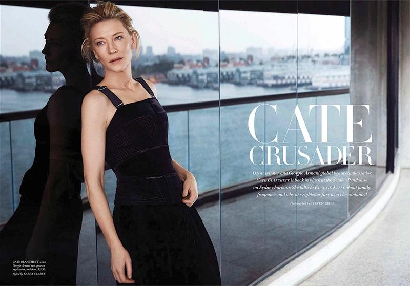 Cate Blanchett in Harpers Bazaar Australia Sept 2018 by Steven Chee (3).jpg