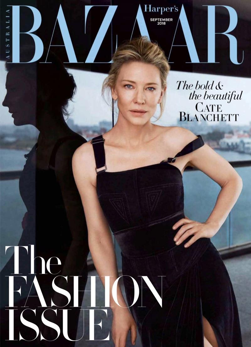 Cate Blanchett in Harpers Bazaar Australia Sept 2018 by Steven Chee (2).jpg