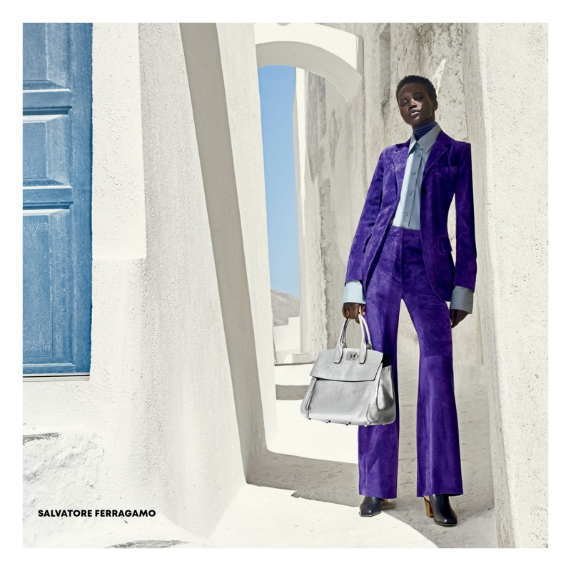 Adut Akech for Americana Manhasset Fall 2018 Ad Campaign (1).jpg