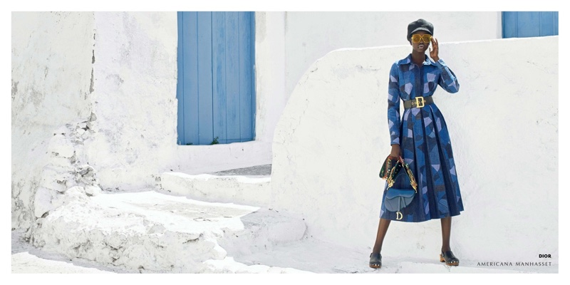 Adut Akech for Americana Manhasset Fall 2018 Ad Campaign (3).jpg